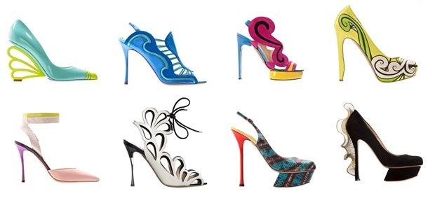 Nicholas Kirkwood'un sıra dışı yazlık ayakkabıları