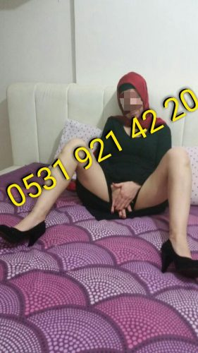 Seksi fetişe açık hatun Nevcan
